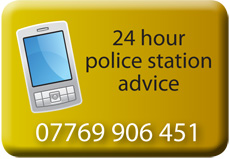 24 hour police station advice arrested