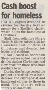 homeless charity
