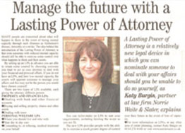 power of attorney advice