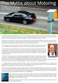 motoring law myths